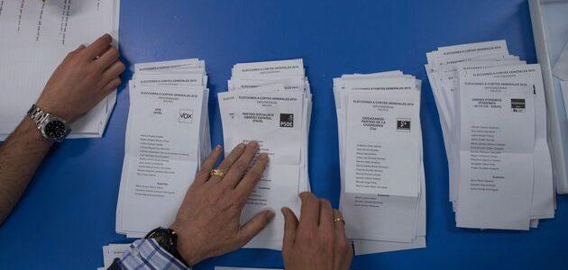 Voto nulo, voto en blanco y abstención